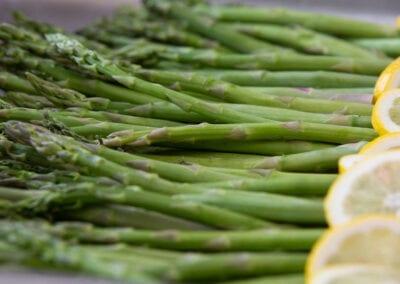 Close up of asparagus